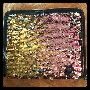 NWOT Sparkly Mini iPad Case